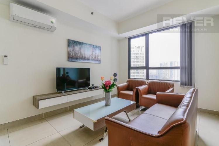 Phòng khách Căn hộ Masteri Thảo Điền 2 phòng ngủ tầng cao T3 view sông
