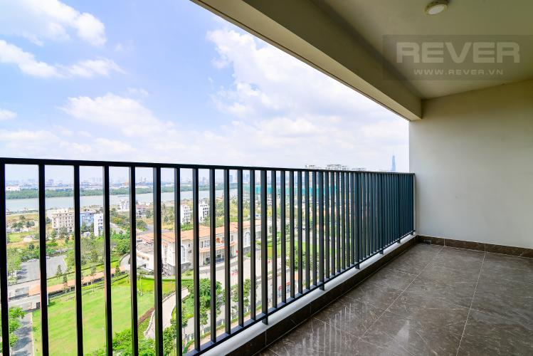 Balcony Cho thuê căn hộ Vista Verde 4PN, view sông thoáng mát