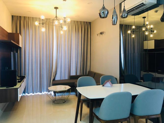 Bán căn hộ Masteri Millennium 2PN, block B, đầy đủ nội thất, view sông và Bitexco