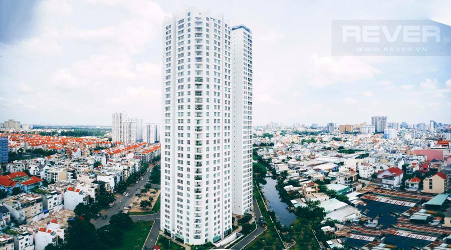 View Cho thuê căn hộ Sunrise CityView 1PN, tầng trung, diện tích 37m2, view sông thoáng mát