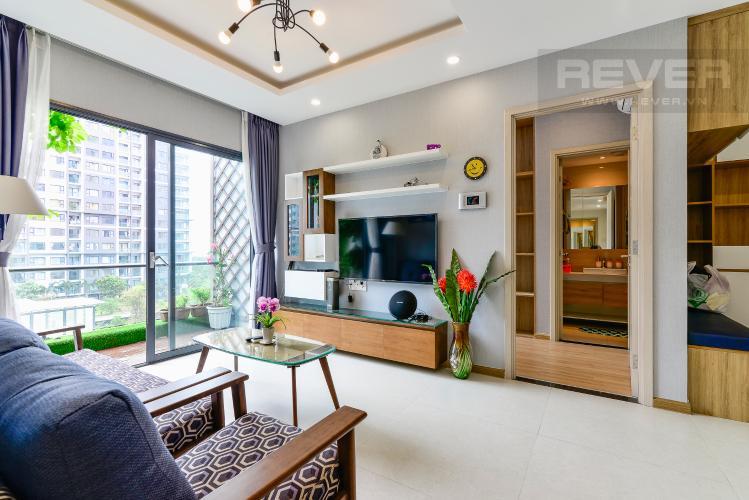 Phòng Khách Cho thuê căn hộ New City 60m2 3PN 2WC, view nội khu, nội thất tiện nghi