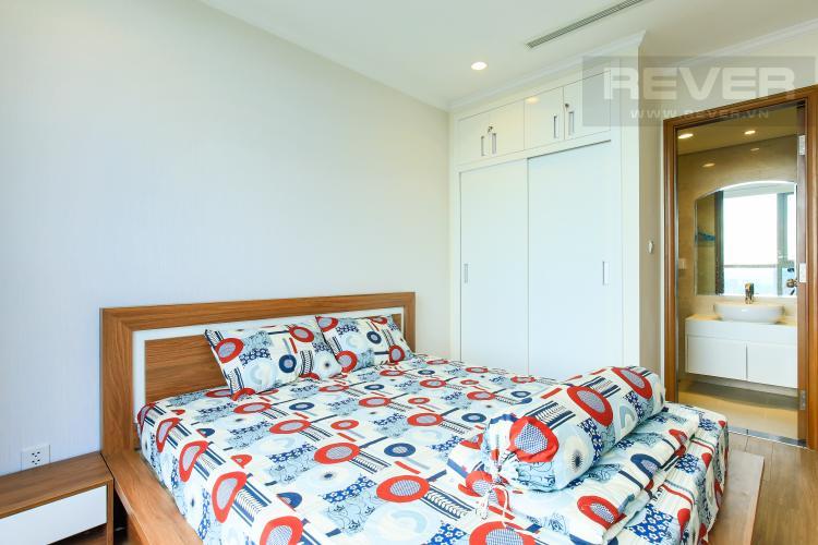 Phòng Ngủ 1 Căn hộ Vinhomes Central Park tầng cao L3, 3 phòng ngủ, nội thất đầy đủ