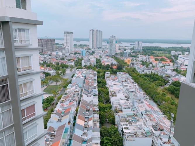 Bán căn hộ Chung cư Phú Mỹ tầng cao, diện tích 93m2 - 2 phòng ngủ, đầy đủ nội thất