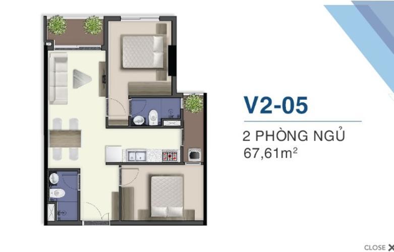 layout căn hộ Q7 Saigon Riverside Bán căn hộ Q7 Saigon Riverside tầng cao, nội thất cơ bản.