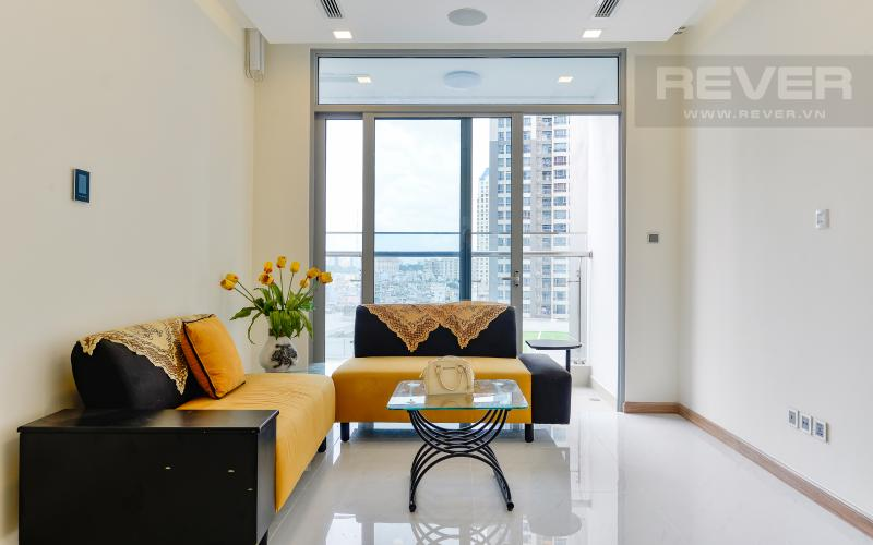 phòng khách Căn hộ Vinhomes Central Park tầng thấp Park 6 view nội khu