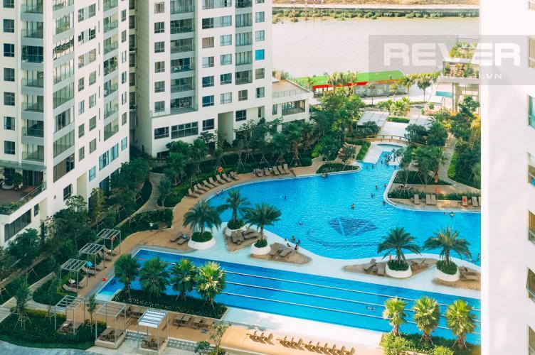 View Nội Khu Bán hoặc cho thuê căn hộ Đảo Kim Cương 3PN tầng cao tháp Maldives, đầy đủ nội thất, view sông và Bitexco