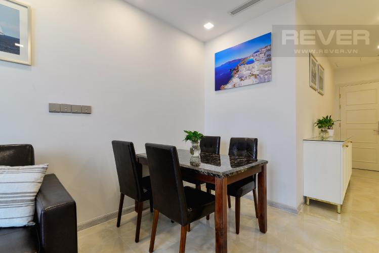 Phòng Ăn Căn hộ Vinhomes Golden River tầng cao, 2PN nội thất đầy đủ, view sông