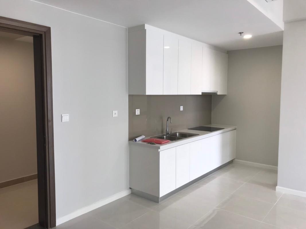 Khu bếp Cho thuê căn hộ Masteri An Phú 2PN, tháp A, nội thất cơ bản, view sông Sài Gòn