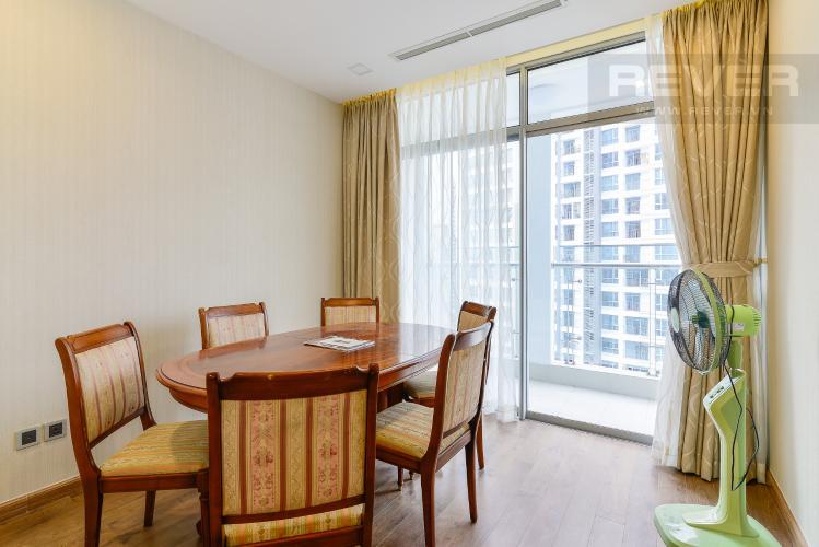 Phòng ngủ 3 Căn hộ Vinhomes Central Park tầng cao P5, view sông với 3 phòng ngủ