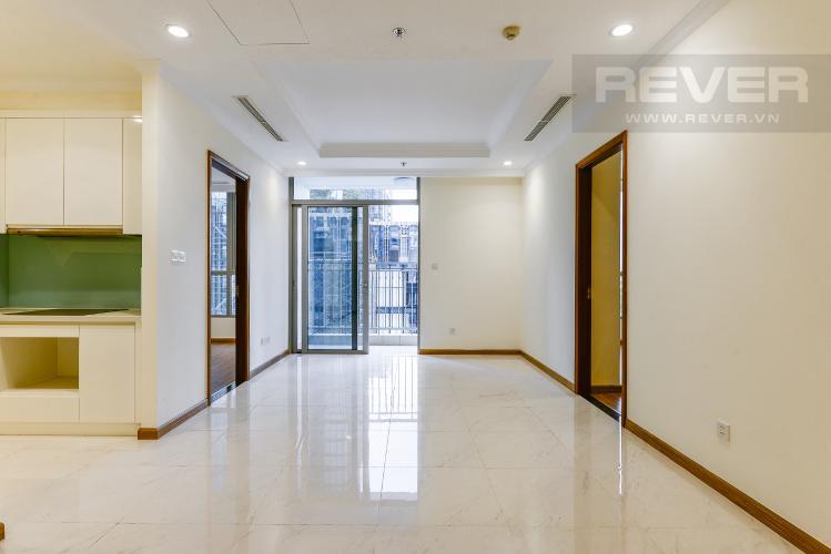 Phòng khách Căn hộ Vinhomes Central Park 3 phòng ngủ tầng thấp L2 hướng Đông Bắc
