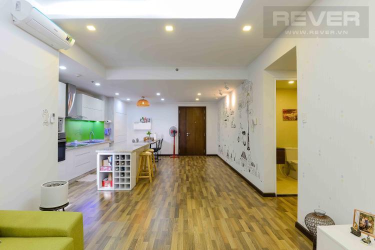 Phòng Khách Bán căn hộ Tropic Garden tầng trung tháp C1, 2PN 2WC, đầy đủ nội thất, hướng Đông Nam mát mẻ