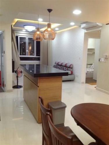 Không gian căn hộ Tropic Garden Căn hộ Tropic Garden tầng cao đầy đủ nội thất, tiện nghi cao cấp.