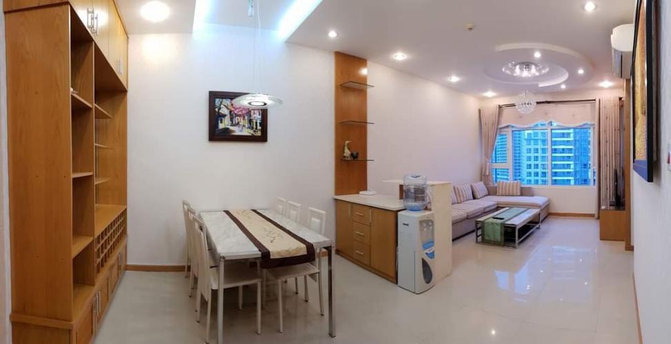 Cho thuê căn hộ Saigon Pearl View Sông Sài Gòn, nội thất đầy đủ