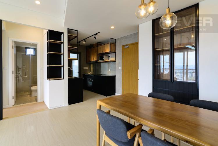 Phòng Ăn & Bếp Cho thuê căn hộ Diamond Island - Đảo Kim Cương 2PN, tháp Canary, đầy đủ nội thất, view sông mát mẻ