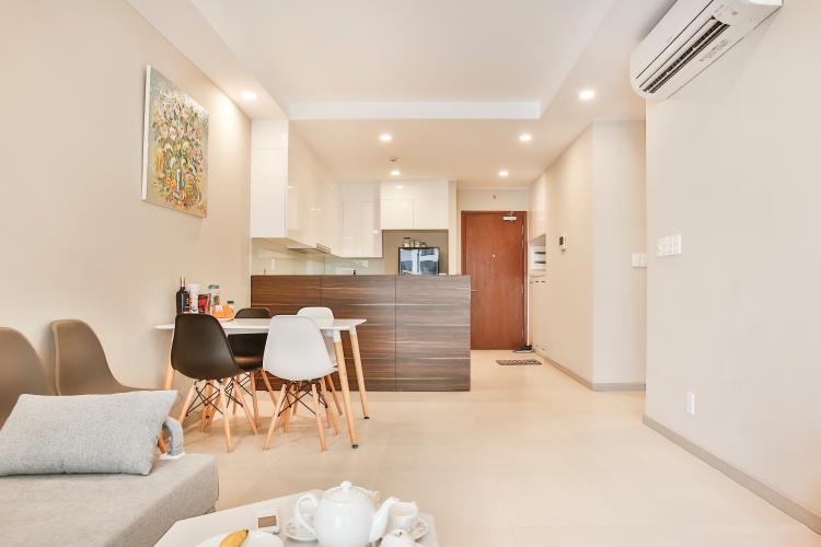 Căn hộ The Gold View 2 phòng ngủ tầng trung A1 đầy đủ nội thất