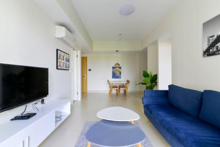 Cho thuê căn hộ Masteri Thảo Điền 2PN, tháp T5, đầy đủ nội thất, view công viên nội khu