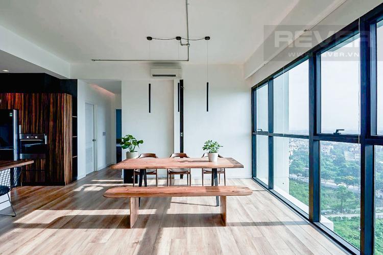 Phòng Ăn Bán căn hộ The Ascent tầng trung, 2PN, nội thất đầy đủ