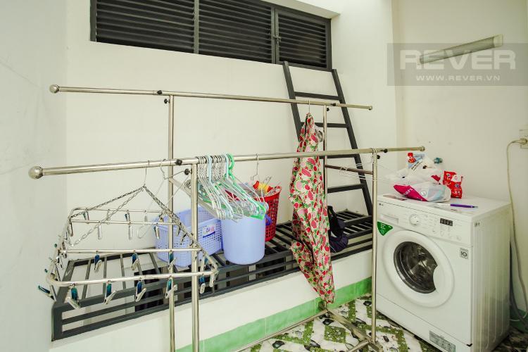 Phòng Giặt Cho thuê nhà phố 3 tầng đường Thạnh Mỹ Lợi, Q2, đầy đủ nội thất, sổ đỏ chính chủ