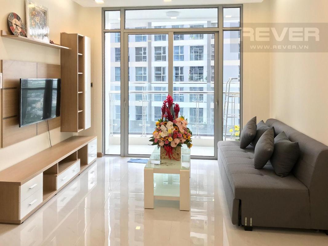 3bb2a30cc3e525bb7cf4 Cho thuê căn hộ 1 phòng ngủ Vinhomes Central Park, tháp Park 7, đầy đủ nội thất, view sông và công viên
