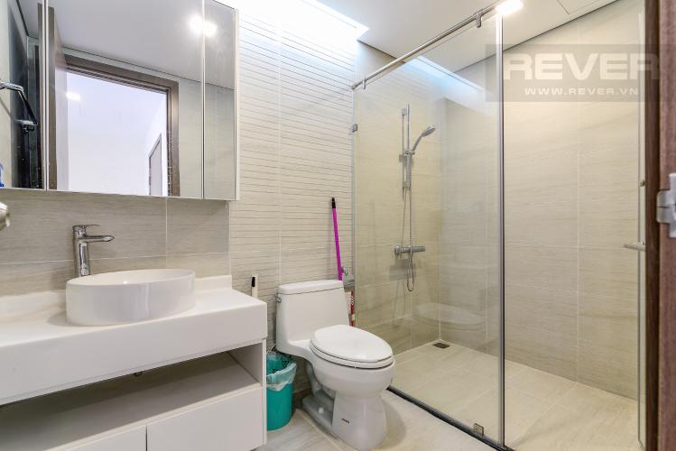 Phòng Tắm 1 Cho thuê căn hộ Vinhomes Central Park tầng cao, 3PN đầy đủ nội thất, tiện nghi, view sông thoáng mát