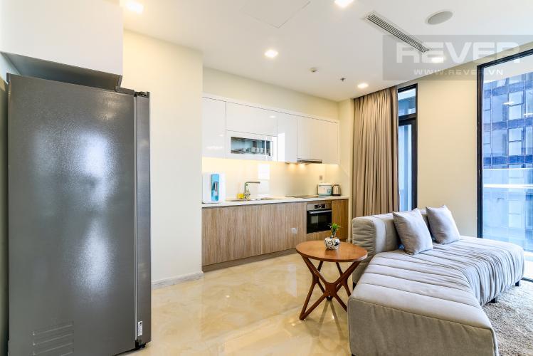 Phòng khách Căn hộ Vinhomes Golden River tầng cao, tháp A1, gồm 3 phòng ngủ, 2 phòng tắm, full nội thất