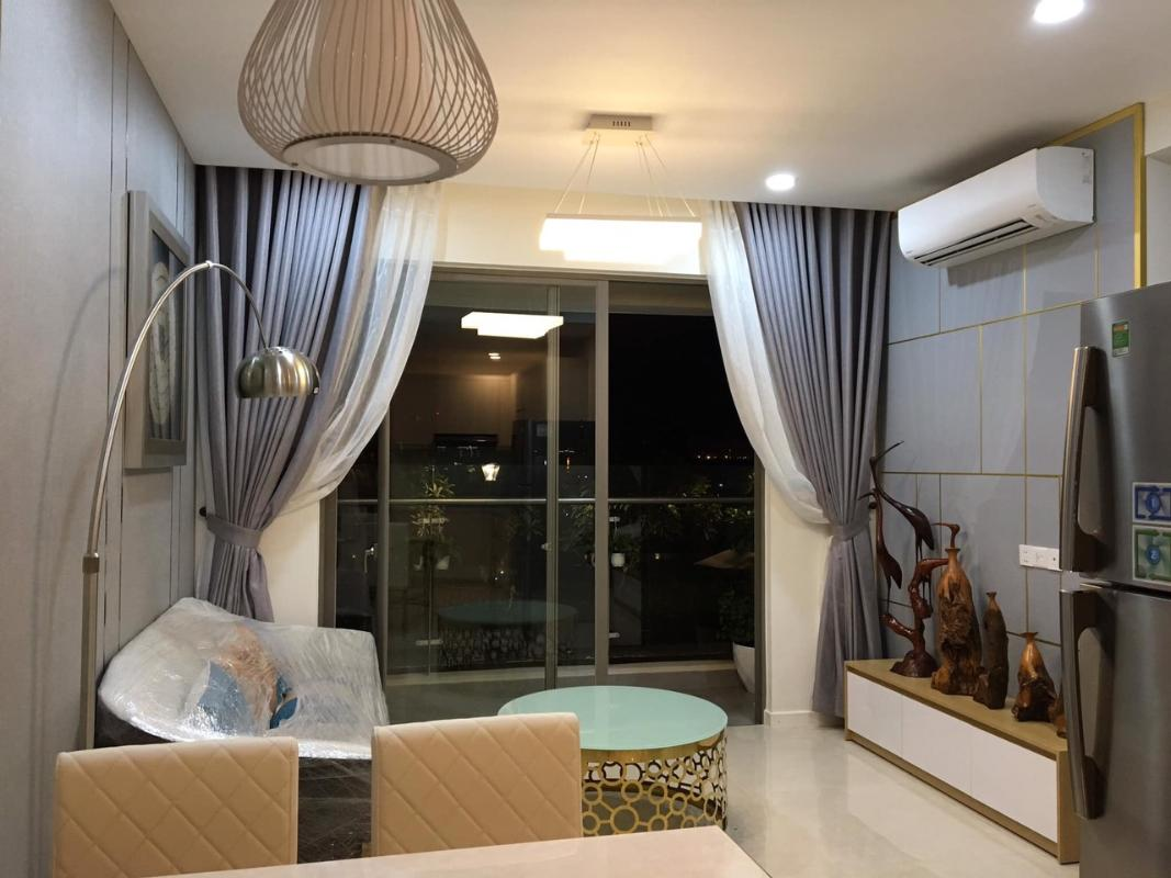 mil0801 8 Bán căn hộ Masteri Millennium 2PN, block A, diện tích 65m2, đầy đủ nội thất