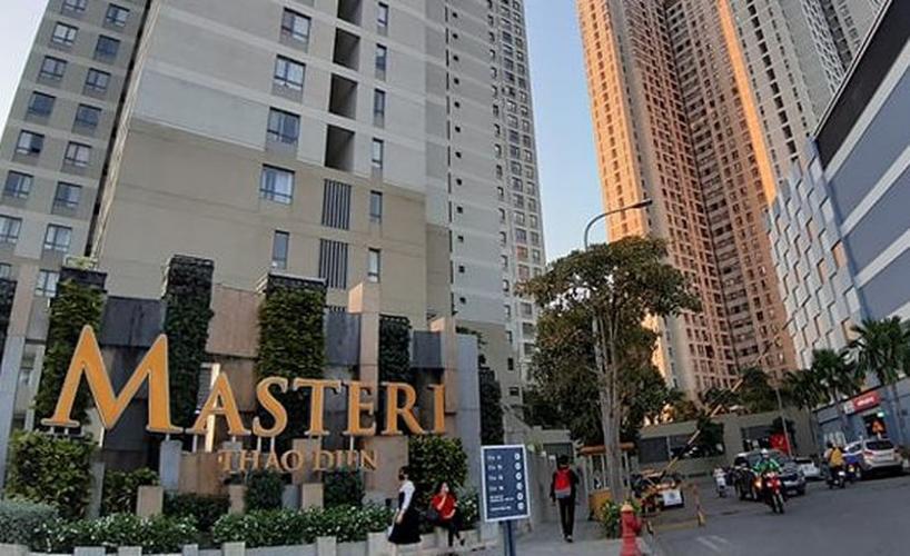 Masteri Thảo Điền, Quận 2 Căn hộ Masteri Thảo Điền đầy đủ nội thất, view nội khu hồ bơi.