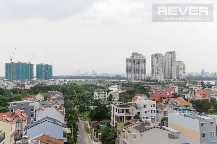 View Bán căn hộ The Sun Avenue 3PN, block 7, view hồ bơi và hướng Đông Nam đón gió