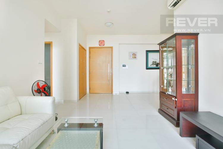 Phòng Khách Căn hộ The Vista An Phú 2 phòng ngủ tầng thấp T3 view nội khu