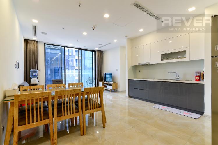 Phòng Khách Cho thuê căn hộ Vinhomes Golden River 70m2 2PN 2WC, nội thất đầy đủ, view sông