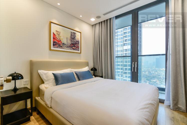 Phòng Ngủ Căn hộ Vinhomes Central Park tầng cao, tháp Landmark 81, 1PN nội thất đầy đủ