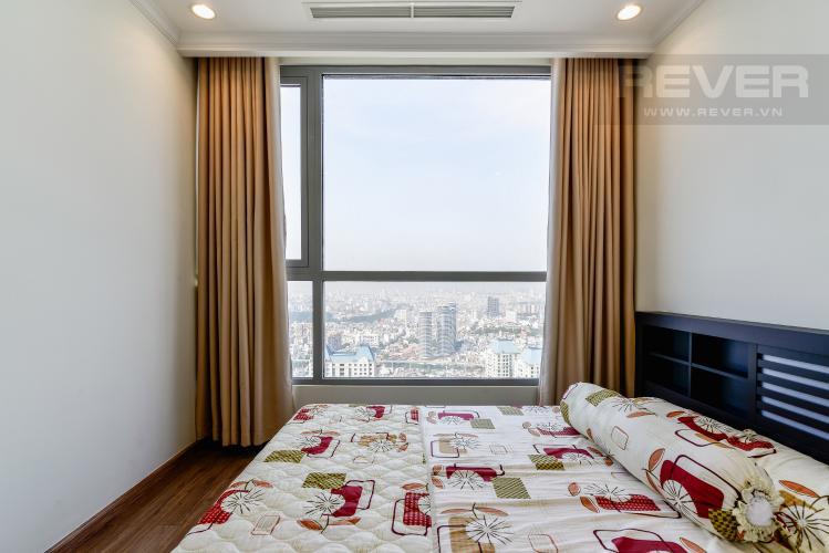 Phòng Ngủ 2 Căn hộ Vinhomes Central Park 2 phòng ngủ tầng cao C3 nội thất đầy đủ