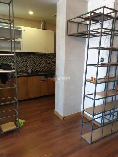 Phòng bếp căn hộ Green Building, Quận 9 Căn hộ chung cư Green Building hướng Đông Bắc, nội thất cơ bản.