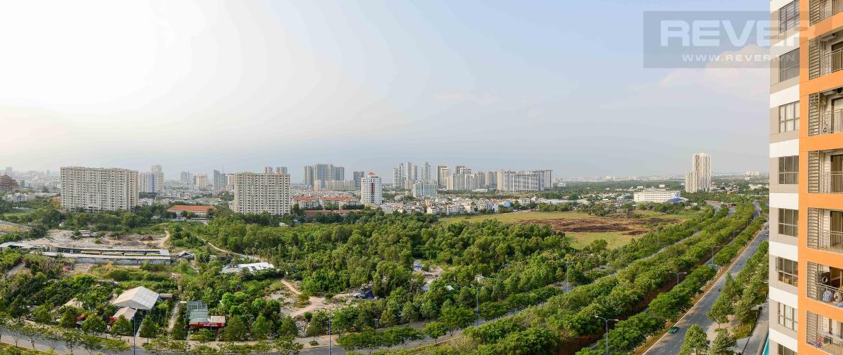 View Cho thuê căn góc The Sun Avenue 3PN tầng trung, đầy đủ nội thất, view cây xanh mát mẻ