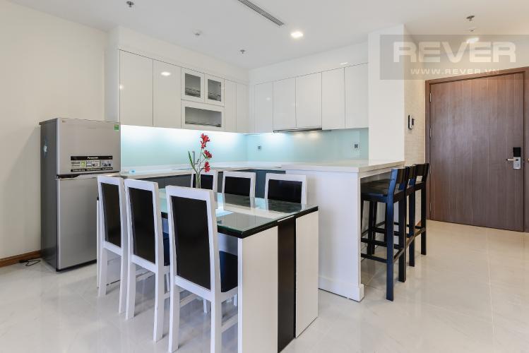Bếp Căn hộ Vinhomes Central Park 2 phòng ngủ tầng cao Park 6