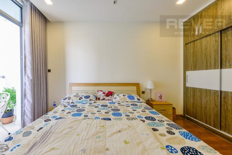 Phòng ngủ 1 Căn hộ Vinhomes Central Park tầng trung tòa park 3 full nội thất