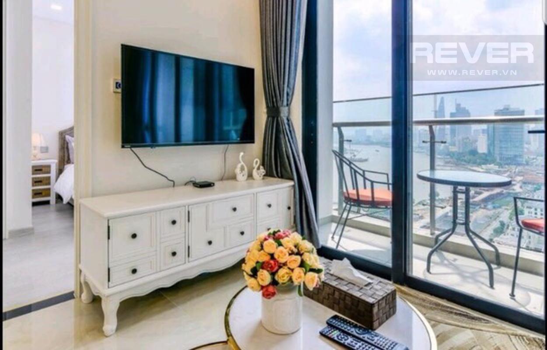 a56a77ee31c7d7998ed6 Bán căn hộ Vinhomes Golden River 2PN, tháp The Aqua 4, đầy đủ nội thất, view sông và Bitexco
