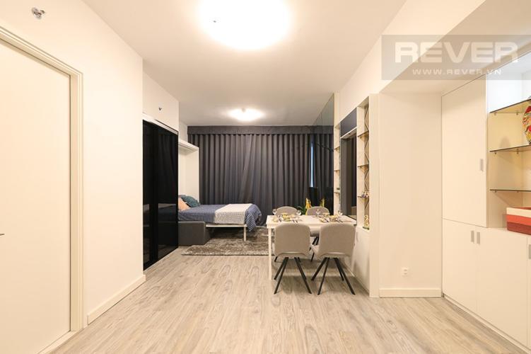Phòng Khách Bán hoặc cho thuê căn hộ Gateway Thảo Điền 1PN, đầy đủ nội thất, view Landmark 81