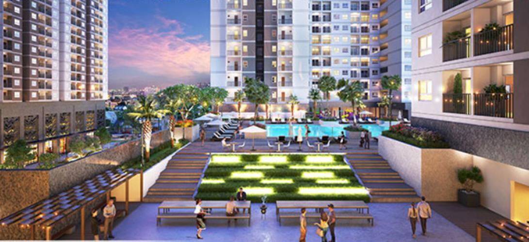 Dự án Q7 Saigon Riverside, Quận 7 Căn hộ Q7 Saigon Riverside nội thất cơ bản, view thoáng mát.