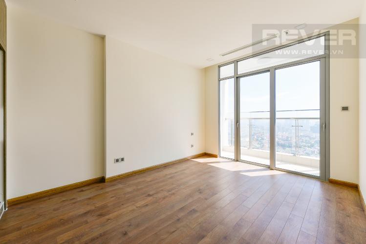 Phòng ngủ 1 Căn hộ Vinhomes Central Park 4 phòng ngủ tầng cao P2 view sông