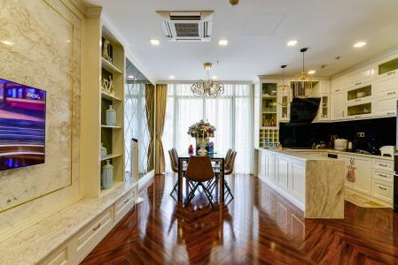 Căn hộ Vinhomes Central Park tầng cao, tháp Park 7, 2PN, nội thất đầy đủ