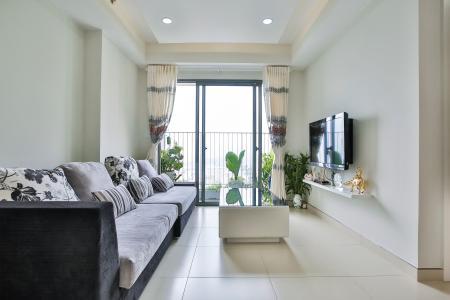 Căn hộ Masteri Thảo Điền tầng cao T5, 2 phòng ngủ, đầy đủ nội thất