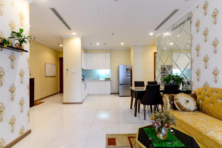 Bán căn hộ Vinhomes Central Park 2PN, tháp The Central 3, diện tích 81m2, đầy đủ nội thất cao cấp