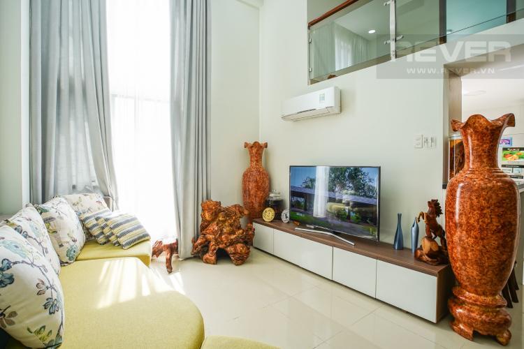 Phòng Khách Bán căn hộ La Astoria 3PN, tháp 1, đầy đủ nội thất, có tầng lửng, view khu dân cư