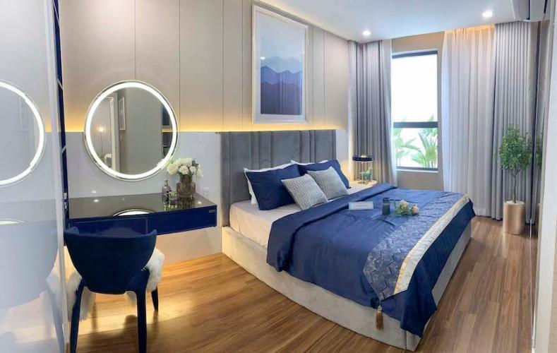 hình ảnh nhà mẫu căn hộ D'lusso quận 2 Căn hộ tầng trung D'Lusso view thoáng mát, nội thất cơ bản.