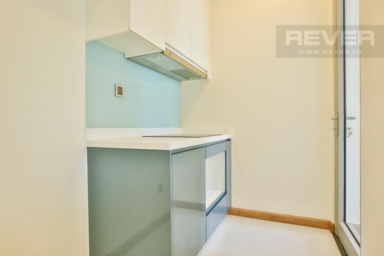 Phòng bếp Căn hộ Vinhomes Central Park tầng cao tháp Park 5 thoáng mát