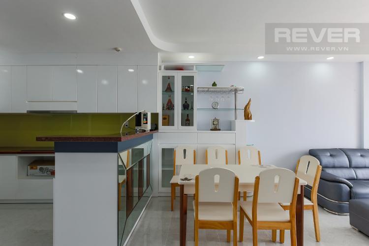 Bàn Ăn Căn hộ The Gold View 2 phòng ngủ tầng trung A3 nội thất đầy đủ