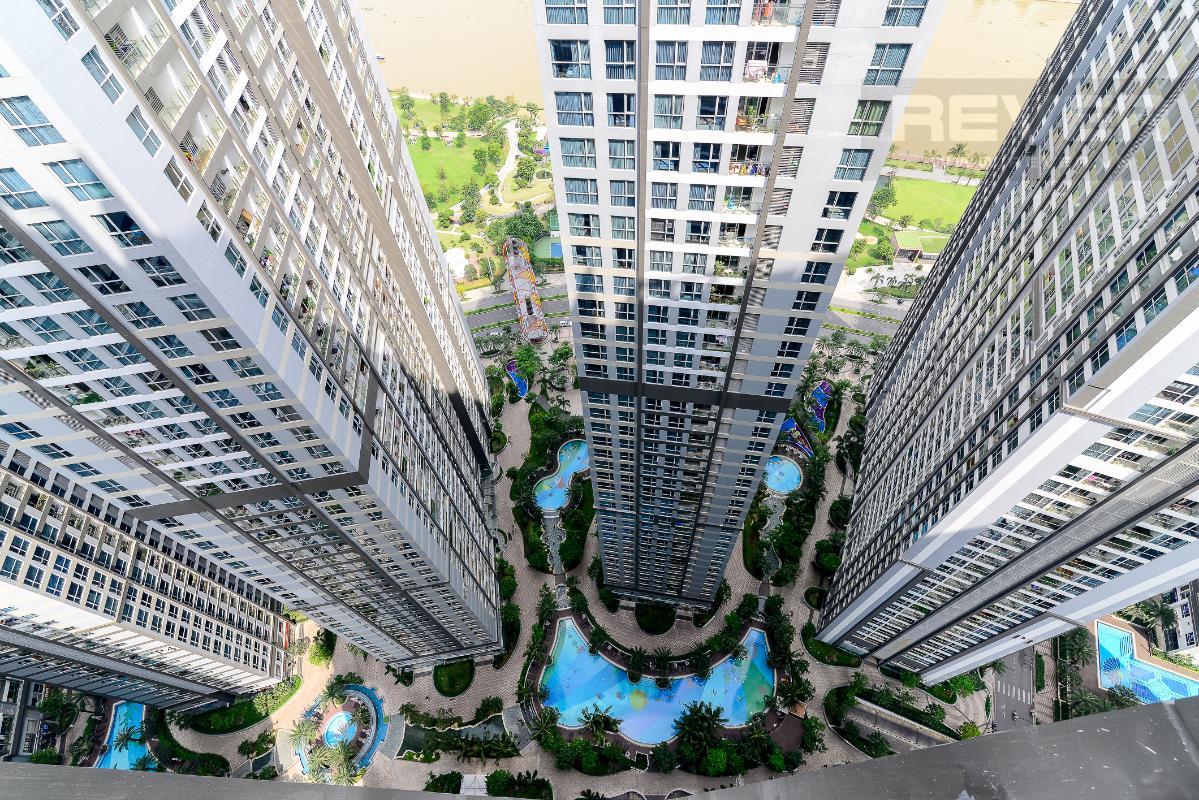 _DSC3966 Bán căn hộ Vinhomes Central Park 1PN, tháp Park 7, đầy đủ nội thất, view hồ bơi và mé sông