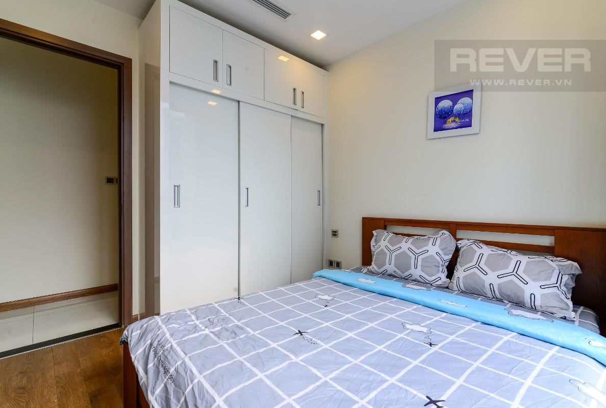 Bed room Cho thuê căn hộ Vinhomes Central Park 2PN, tầng thấp, diện tích 75m2, đầy đủ nội thất, view nội khu
