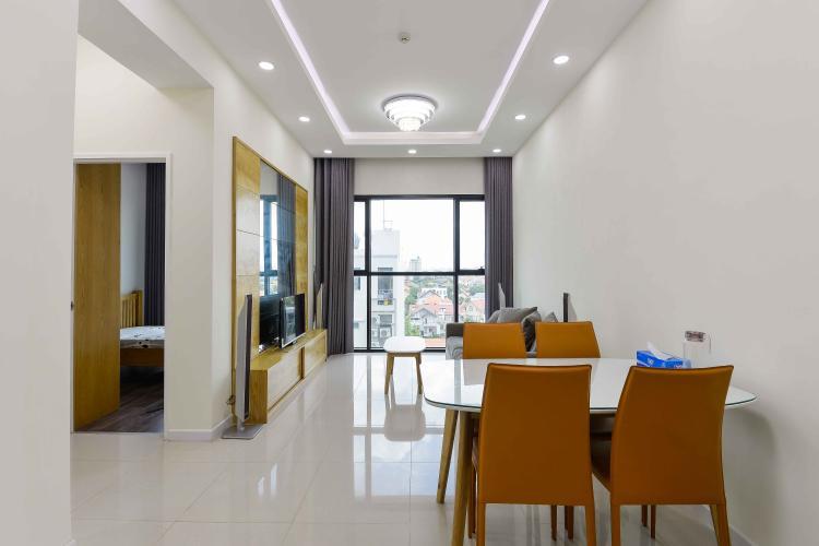 Phòng khách căn hộ THE ASCENT Căn hộ The Ascent tầng thấp đầy đủ nội thất, view Landmark 81